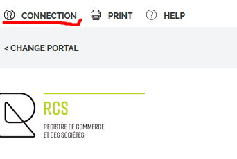Luxembourg Registre de Commerce login